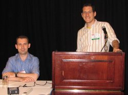 Steven and Saar at USENIX Security 2007