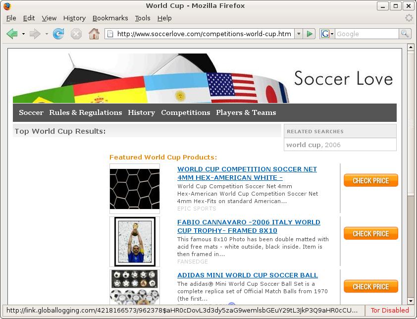 Soccerlove (Firefox)