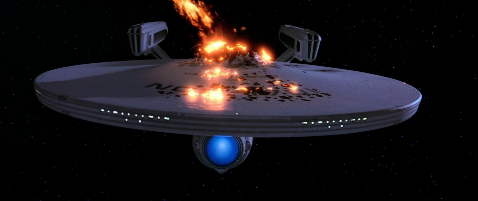 USS Enterprise going even more boldly than usual